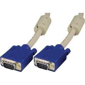 2m Deltaco VGA-kabel Grå