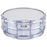 Ludwig Supralite 5.5×14″ – Polished Steel Snare Drum