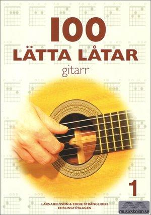 100 lätta låtar gitarr 1