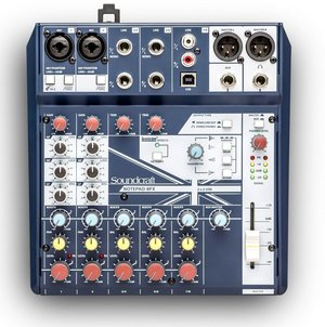 Soundcraft Notepad 8-FX