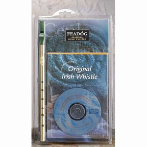 Feadog Irish Whistle inkl cd-skola