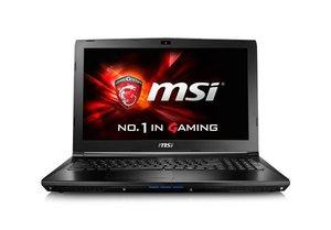 """MSI GL62 6QD 15.6"""" i7 GTX950M, dubbla diskar"""