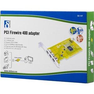 Deltaco Firewire 400 PCI