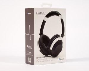 Pulse HP4000BK - Trådlös hörlur med aktiv brusreducering
