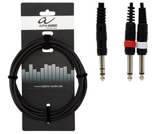 Alpha Audio Basic Y-kabel 6m