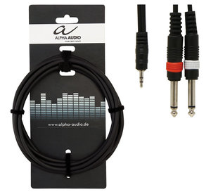 Alpha Audio Basic Y-kabel 3m