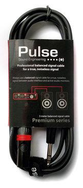 Pulse XLR-Tele (balanserad) 3m