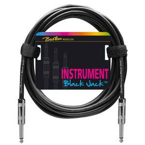 Boston Black Jack Instrument Cable 6m