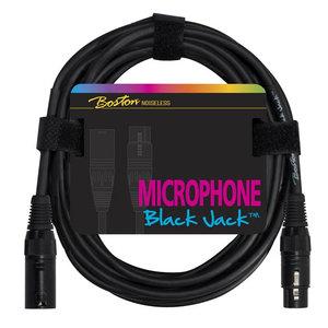 Boston Black Jack Microphone Cable XLR (f) – XLR (m) 2m
