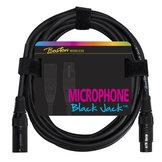 Boston Black Jack Microphone Cable XLR (f) – XLR (m) 5m